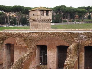 Roma, costruzione antica