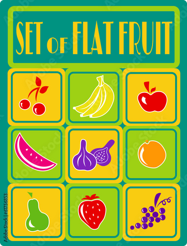 Fruit Set Flat
