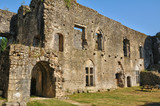 picturesque castle of Villandraut in Gironde