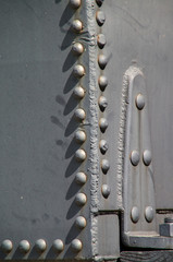 train rivet detail