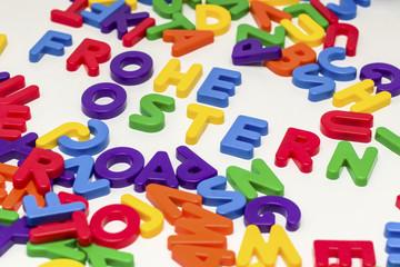 Ostern - Buchstaben