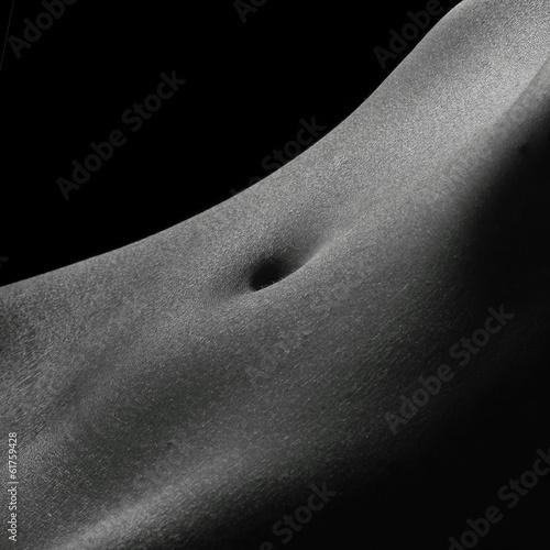 nu artistique noir et blanc © mariesacha