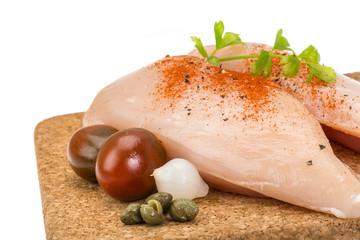 Chicken pile