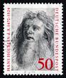 Postage stamp Germany 1974 Hans Holbein the Elder, Painter
