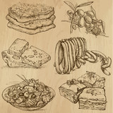Food and Drinks_8 -  Hand drawn illustrations into vector