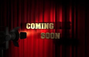 Coming Soon - Vorhang Spot