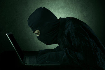 Hacker accessing user information