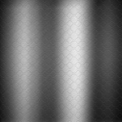 Embossed metal background