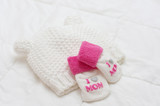 Pink infant girl clothing for baby