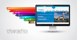 Modern devices mockups fr your business projects. poster