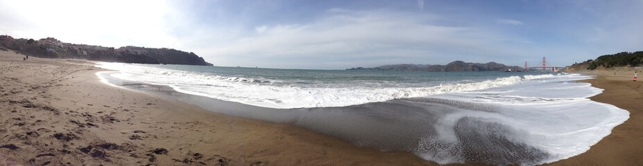 baker beach at san francisco CA