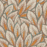 Vector seamless eastern pattern.
