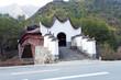 oriental  pavilion bridge of China,village