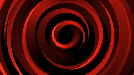 Abstract background with animated shapes and circles