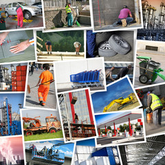 cartoline lavoro collage