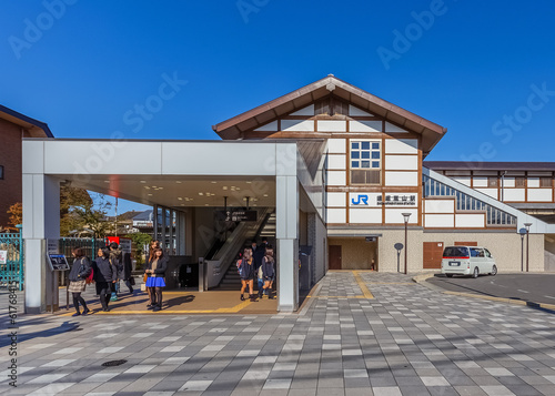 Saga Arashiyama Station in Kyoto