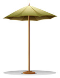 A table umbrella