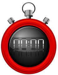 A red timer
