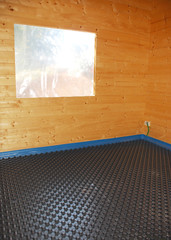 Room With Molded Insulated Panel in EPS
