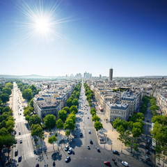 Paris city center at day - France / Europe
