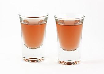 Due bicchierini di liquore