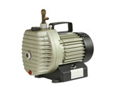 Vacuum pump (oil-lubricate rotary vane) isolated on white backgr