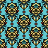 Damask  abstract  flower seamless vector