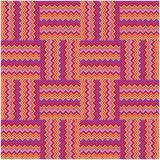 zigzag mosaic patchwork background