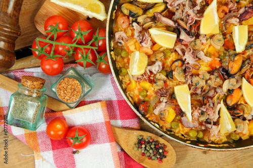 gourmet paella