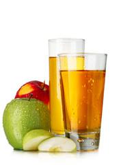 Fresh apple juices