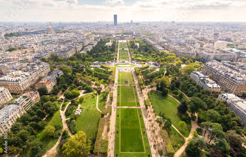 The Champ de Mars in Paris