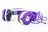 Violet color Headphone