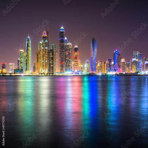 Foto Spatwand Dubai Dubai Marina.