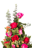 bouquet of roses isolated ,take in studio