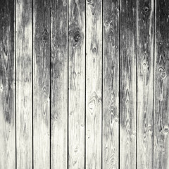 Old grey weathered wooden wall