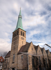 Church of St. Nikolai. Hameln, Germany