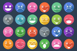 Smiley Icons Flat Design