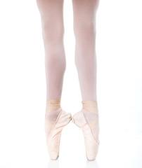 Ballerina's feet