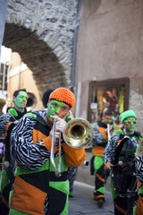 Euro Carnevale in Trieste and Muggia, Italy