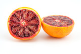 slices of red blood oranges