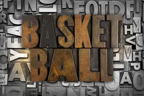 Poster Basketball