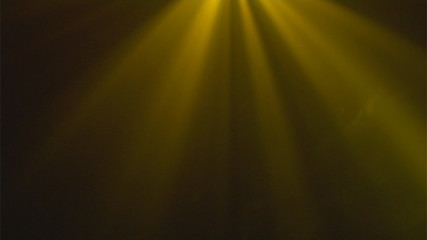 abstract yellow playing lights background