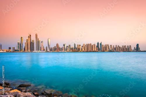 Fotobehang Dubai Dubai Marina.