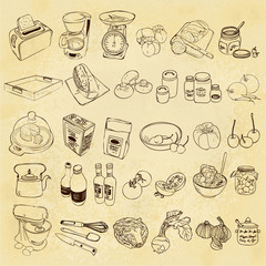 vintage kitchen icon
