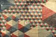 Obrazy na płótnie, fototapety, zdjęcia, fotoobrazy drukowane : Abstract geometric pattern as background