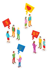 Isometric People collection