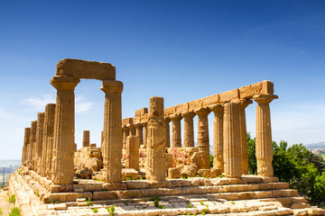 Greek temple of Juno