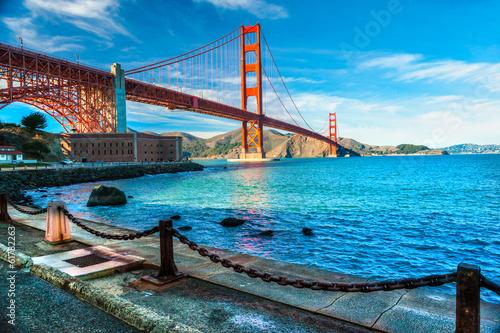 Fotobehang San Francisco Golden Gate, San Francisco, California, USA.