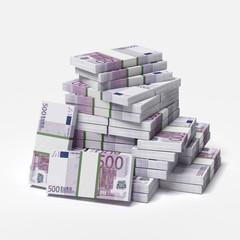big pile of euros