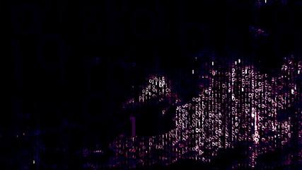 3D binary calculations simulation